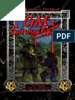 L5R - GM's Survival Guide
