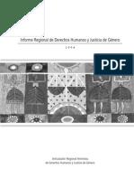 Informe Regional de Derechos Humanos y Justicia de Género - 2008
