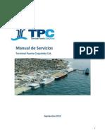 TPC Manual de Servicios