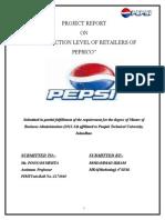 """Satisfaction Level of Retailers of Pepsico"""