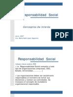 Resposabilidad Social