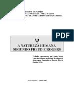 A Natureza Humana Segundo Freud e Rogers