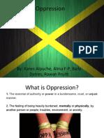 oppression in jamaica pptx