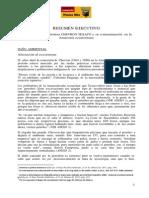 Resumen Caso Chevron Texaco Contaminacion Amazonia
