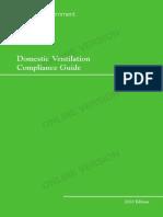 Domestic Ventilation Compliance Guide 2010