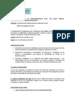 Convocatoria Curso Internacional de Bioneuroemoción Marzo 14