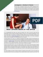 Private Investigators—Disclose A Cheater