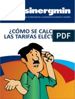 Cálculo Tarifas Eléctricas en Perú