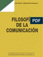 Filosofia de La Comunicacion