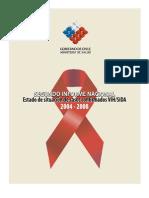 SEGUNDO INFORME NACIONAL Estado de situación de casos confrmados VIHSIDA - 2004 - 2008