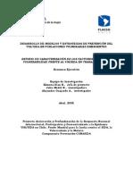 ESTUDIO DE CARACTERIZACIÓN DE LOS FACTORES DE RIESGO Y VULNERABILIDAD FRENTE AL VIHSIDA EN TRABAJADORESAS - 2005