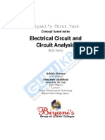 Electrical Circuits and Circuit Analysis