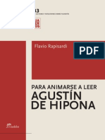 Rapisardi Flavio - Para Animarse a Leer - Agustin de Hipona