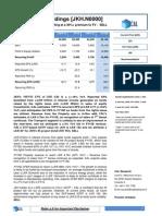 JKH-1HFY15 Earnings Note - SELL - 07Nov2014.pdf