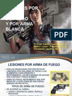 CLASE N6 LESIONES POR ARMA BLANCA Y ARMA DE FUEGO.ppt