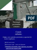 Nursingul Pacientului Comatos