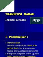 KULIAH TRANSFUSI