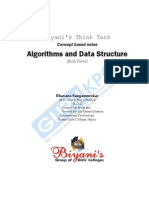 Algorithms and Data Structure