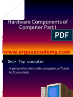 Hardware INPUT & OUTPUT DEVICE