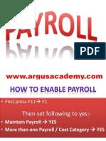 Payroll IN TALLY