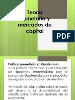 Politica Monetaria Guatemala