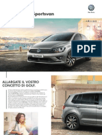 Catalogo Volkswagen Golf Sportsvan