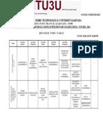 B.TECH 4-1(R07) SUPPLEMENTARY EXAM TIMETABLE