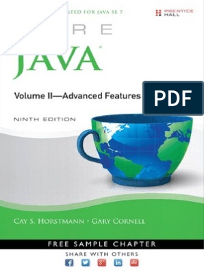 Core Java 2 Advanced Features Vol II 9th Edition pdf