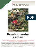 Bamboo Water Garden