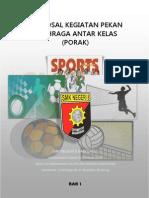 Proposal Pekan Olahraga Antar Kelas 2013