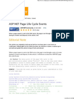 ASP.net Page Life Cycle Events - CodeProject