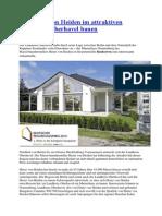 Mit Heinz von Heiden im attraktiven Landkreis Oberhavel bauen