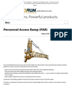 Personnel Access Ramp (PAR) - Forum Energy Technologies