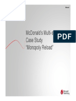 McDonalds Monopoly Case Study