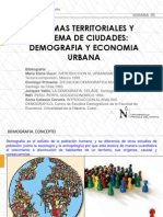 Sistemas Territoriales y Demografia