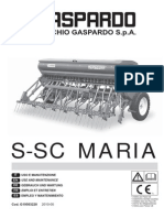 Operation Manual S-SC MARIA 2010-05 (G19503220)