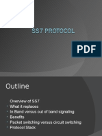 Overview of SS7  What It Replaces  in Band