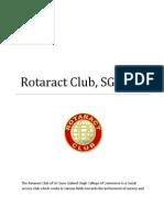 Rotaract Club, S.G.G.S.C.C
