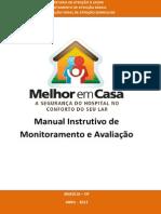 Manual Instrutivo Monitora Avaliacao AD
