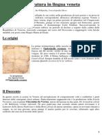 Storia Della Letteratura Veneta Ok