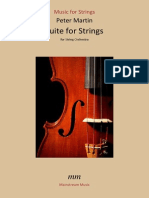 Peter Martin - Suite for Strings