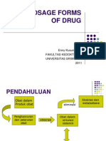 Dosage Forms of Drug