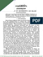 The Impact of Moderinity on Islam