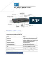 Cisco Catalyst 2960-X Series