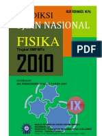 Kisi-kisi Dan Prediksi UN Fisika SMPMTs 2010