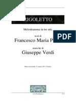 G. Verdi - Rigoletto (Libretto)