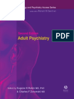 Adult Psychiatry, 2nd Ed, 2005