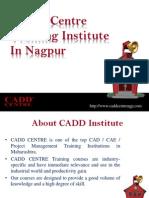 Cadd Centre Training Institute in Nagpur