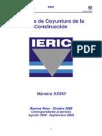 Informe de Coyuntura de la Construcción Octubre 2008