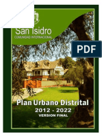 Plan Urbano San Isidro  2012-2022